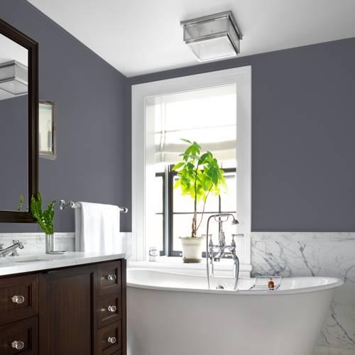 Gray Paint Color Palette:  Gray Flannel