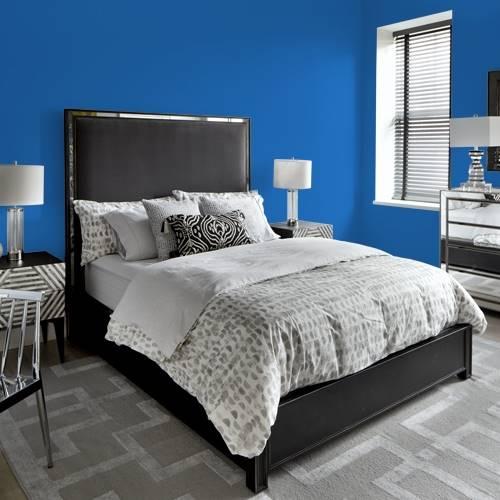 bleu saphir couleur de peinture. Black Bedroom Furniture Sets. Home Design Ideas